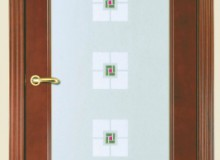 Двери межкомнатные Мебельмассив Алтея одностворчатая дверь Алтея О (миланский орех)