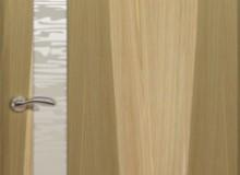 Двери межкомнатные Океан de Vesta  одностворчатая дверь de Vesta EGO L белое стекло