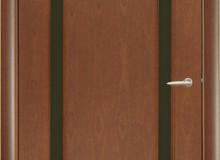 Двери межкомнатные Мебельмассив Альба одностворчатая дверь Альба2 (красное дерево)
