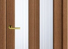 Двери межкомнатные Волховец  Ego одностворчатая дверь 6122 ДМД Дуб медовый