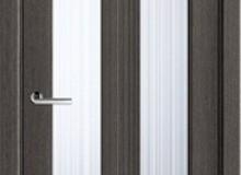 Двери межкомнатные Волховец  Ego одностворчатая дверь 6122 ДСЕ Дуб серый