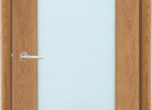 Двери межкомнатные Мебельмассив Альба одностворчатая дверь Альба1 (светлый дуб)