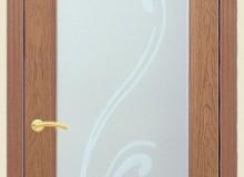 Двери межкомнатные Мебельмассив Алтея одностворчатая дверь Алтея О с рисунком (светлый дуб)