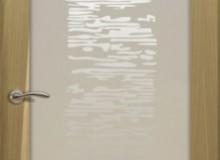 Двери межкомнатные Океан de Vesta  одностворчатая дверь de Vesta EGO P белое стекло
