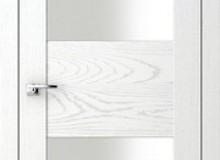 Двери межкомнатные Волховец  Quadro одностворчатая дверь 6012 ДБЛ Дуб белый
