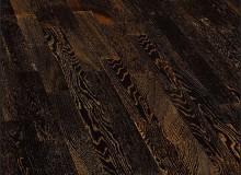Паркетная доска Wood Bee 307 Дуб Антик Блэк (Antik Black)