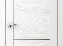 Двери межкомнатные Волховец  Quadro одностворчатая дверь 6013 ДБЛ Дуб белый