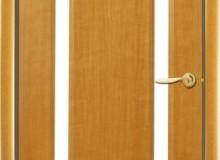 Двери межкомнатные Мебельмассив Альба одностворчатая дверь Альба2 матовый триплекс (африканский орех)