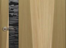 Двери межкомнатные Океан de Vesta  одностворчатая дверь de Vesta EGO L чёрное стекло