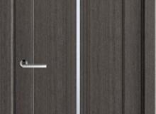 Двери межкомнатные Волховец  Ego одностворчатая дверь 6123 ДСЕ Дуб серый