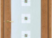 Двери межкомнатные Мебельмассив Алтея одностворчатая дверь Алтея О (светлый дуб)