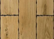 Массивная доска Topwood  Дуб рустик с фигурной фаской 5020