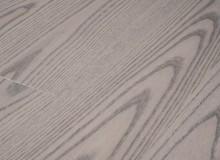 Массивная доска Авторская коллекция Coswick из ясеня - матовый лак Серебряный(Silvery)