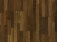 Паркетная доска Quick-step (Квик-степ) - Коллекция Villa трехполосная - Дуб закопченный матовый VIL1369