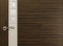 Двери межкомнатные Океан de Vesta  одностворчатая дверь de Vesta Concept L белое стекло