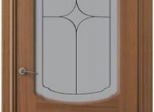 Двери межкомнатные Valdo Итальянский орех одностворчатая дверь 750 ПО