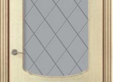 Двери межкомнатные Valdo Золотая патина одностворчатая дверь 750 ПО