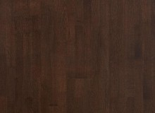 Паркетная доска Karelia Дуб Dark Chocolate трехполосный